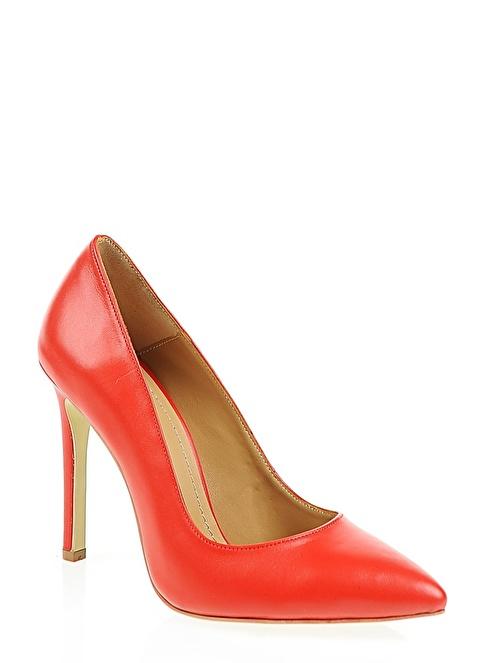 D by Divarese %100 Deri Klasik Ayakkabı Kırmızı